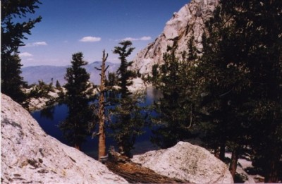 Brett Lone Pine Lake Mt. Whitney 10,000 feet