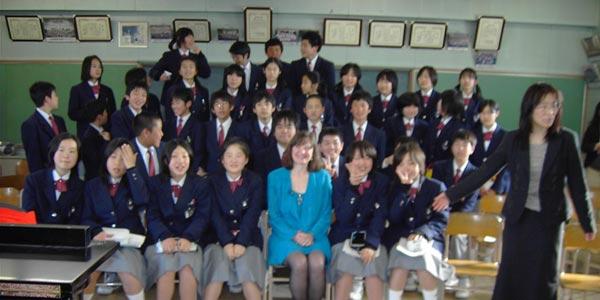 Middle School Tokyo, Japan