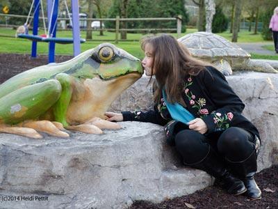 Kissing Amphibians