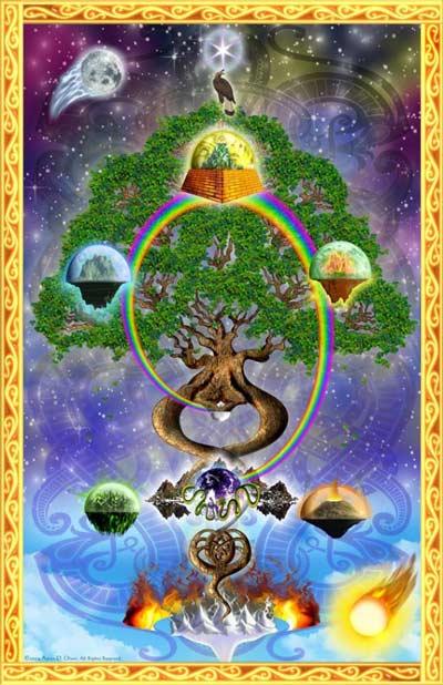 World Tree Painting