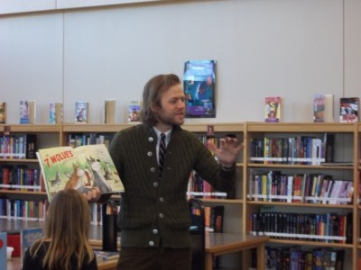 Author Mac Barnett