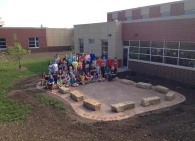 outside classroom library