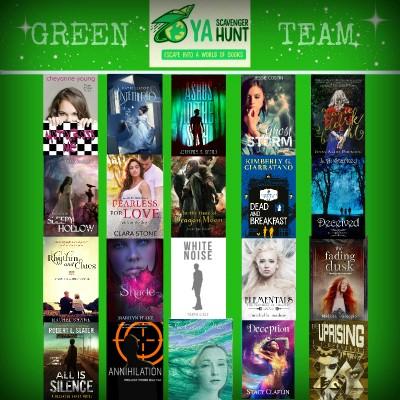 Green Team books