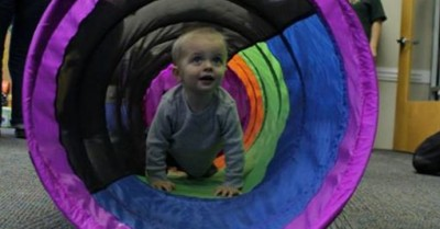 LL M Miles Baby Obstacle Course