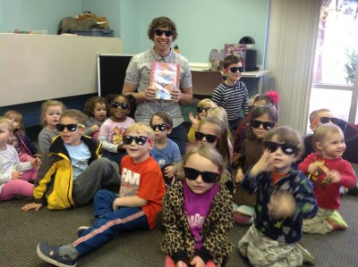 LL M Miles Storytime -- Pete the Cat and His Magic Sunglasses
