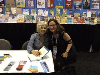 LL Sharon Meeting author Kate DiCamillo
