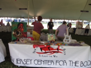 LL Sharon Table at National Book Festival